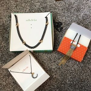 Vintage Stella & Dot Necklace Set